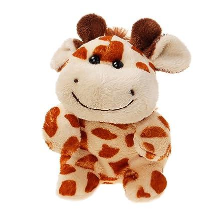 Amazon Com Tiktoy Giraffe Stuffed Animals Plush Toy Measures 4 7