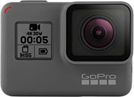 GoPro HERO5 Black - Cámara de acción digital sumergible ideal para viajar con pantalla táctil, vídeo 4K HD y fotos de 12 MP