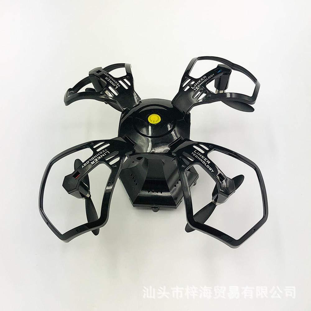 Wifi Version schwarz Flugzeug zusammenklappbar vierachsig Flugzeug hochkugelförmig WLAN Antenne Drohne @ WiFi Version schwarz