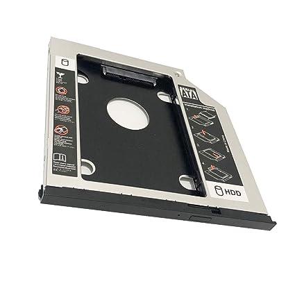 Adaptador para Disco Duro de 2ª HDD SSD con Marco óptico para DELL ...