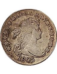 1803 P Bust Half Dollars Half Dollar F12 PCGS