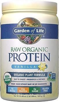 Garden Of Life Polvo de Vainilla de Proteína Orgánica 620 g