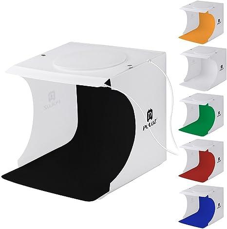 Portable Photo Studio Caja con LED luz PULUZ DIY mesa tienda de ...