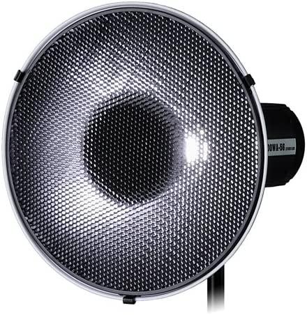 impact /& Visatec Strobe Light Fotodiox Pro Beauty Dish 16 with Honeycomb Grid and Speedring for Broncolor
