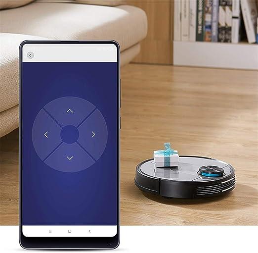 WSN Robot Aspirador,Wi-Fi Conectado con 2150 Pa Potente succión ...