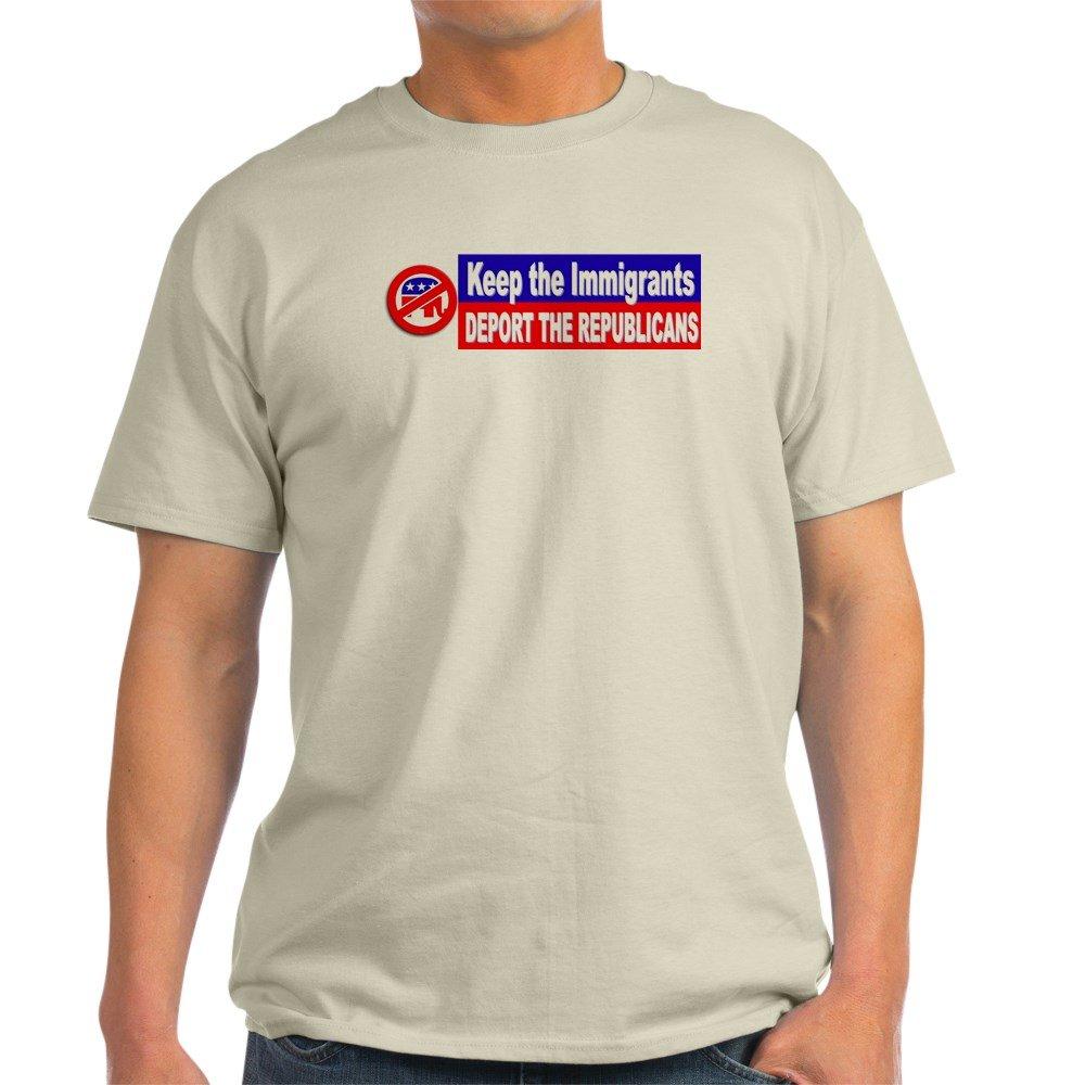 eb5b32397 Amazon.com: CafePress 'Deport The Republicans' T-Shirt Cotton T-Shirt:  Clothing