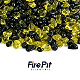 Swallowtail – Blended Fire Glass Dots for Indoor and Outdoor Fire Pits or Fireplaces | 10 Pounds | 3/8 Inch Review