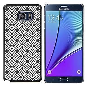 LECELL--Funda protectora / Cubierta / Piel For Samsung Galaxy Note 5 5th N9200 -- Patrón de Diseño Wallpaper --