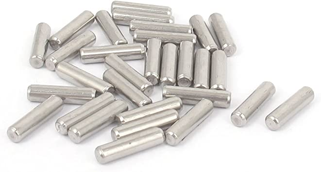 uxcell 304 Stainless Steel Dowel Pins Fastener Elements 3mmx32mm 20pcs