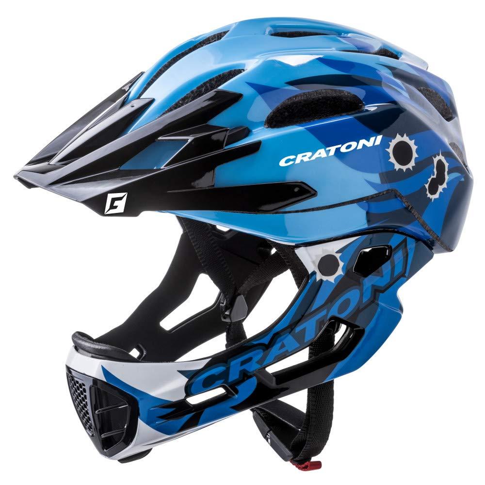 Cratoni C-Maniac Pro Fahrradhelm //// Gelb//Blau//Orange