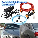 Sedeta 12V Portable car wash pump 70W 130PSI High Pressure Self-Priming Spray Washer sprayer kit for watering flowers, washing bathroom, cleaning window, washing floor, cleaning air conditioner
