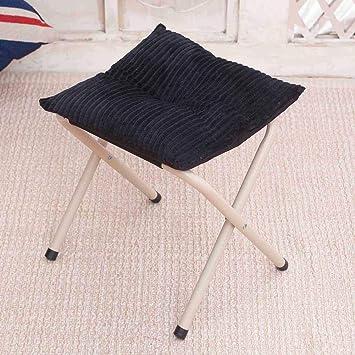Fantastic Sannix Portable Footstool Comfortable Folding Foot Rest Step Stool Anti Slip Footstool For Adults Kids Corduroy Cjindustries Chair Design For Home Cjindustriesco
