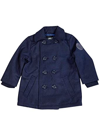Amazon.com: Woolrich - Big Boys' Peacoat, Navy 36530-14/16: Clothing