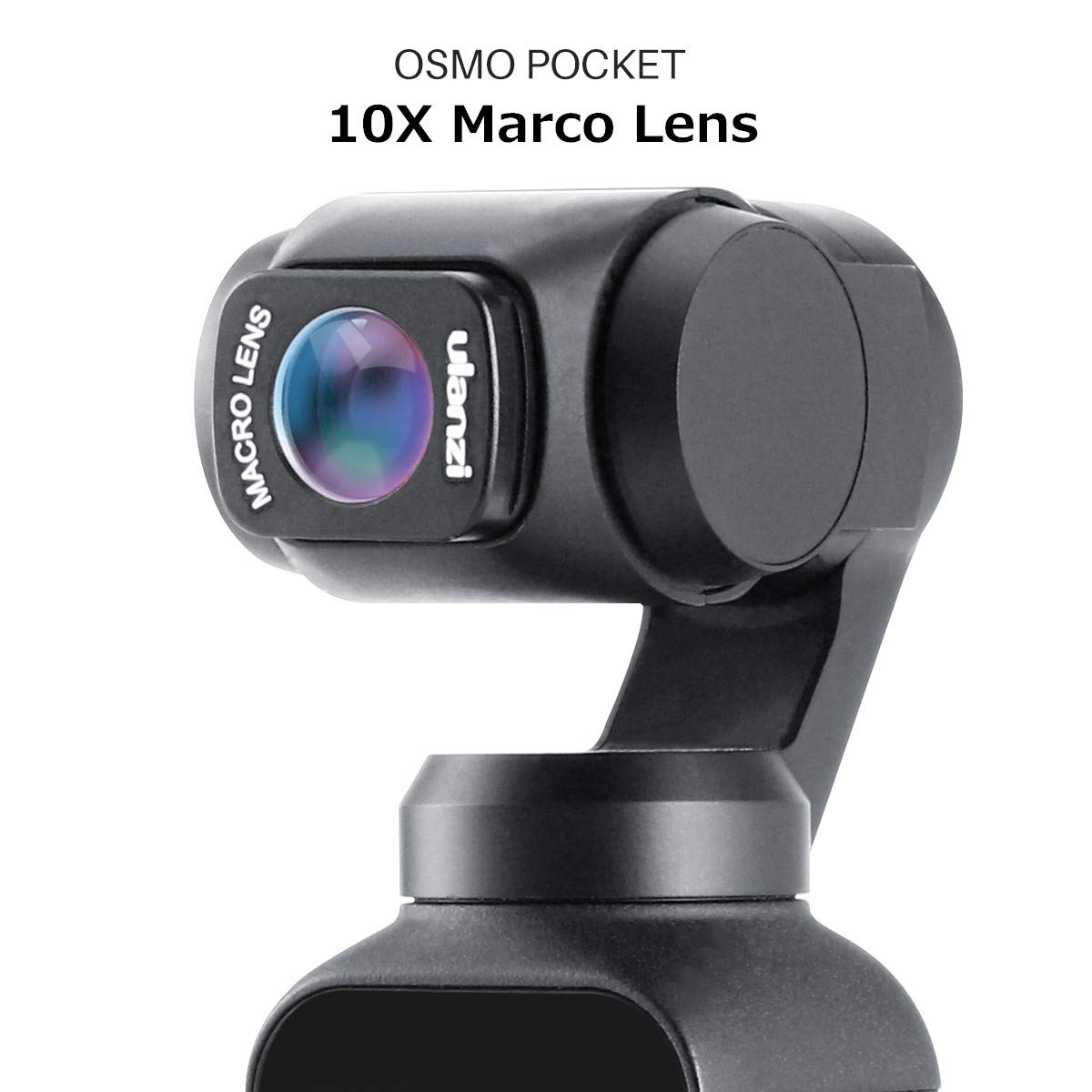 ULANZI OP-6 OSMO Pocket Super Marco Lens for DJI OSMO Pocket Magnetic Structure Camera Handheld Gimbal Stabilizer Accessories 10X Marco Camera Lens