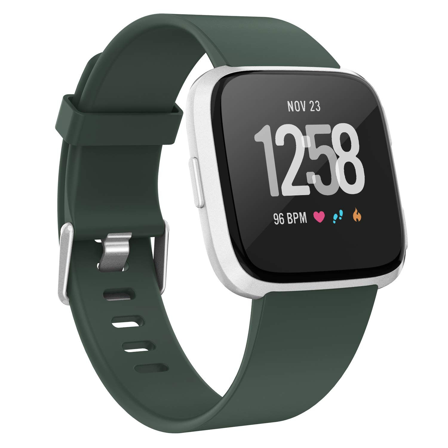 Women Men Small Large Soft TPU Replacement Versa Band Compatible with Versa Lite//Versa Special Edition//Versa 2 Adepoy For Fitbit Versa Strap