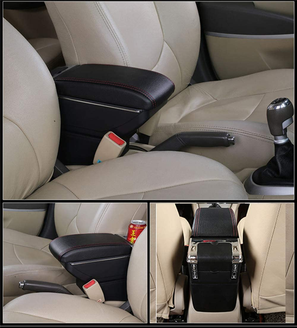 SZSS-CAR Leather Car Interior Parts Center Console Armrest Box for Chevrolet Trax 2016 2017 2018 Auto Armrests Storage
