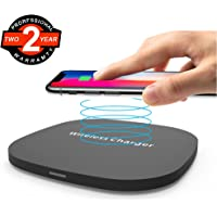 DIWUER Qi Fast Wireless Charger Charging Pad & Qi-Enabled Devices