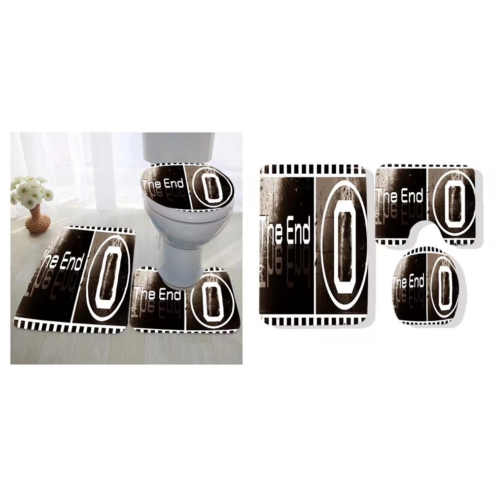Niasjnfu Chen three-piece toilet seat pad custom design the ending movie screen images