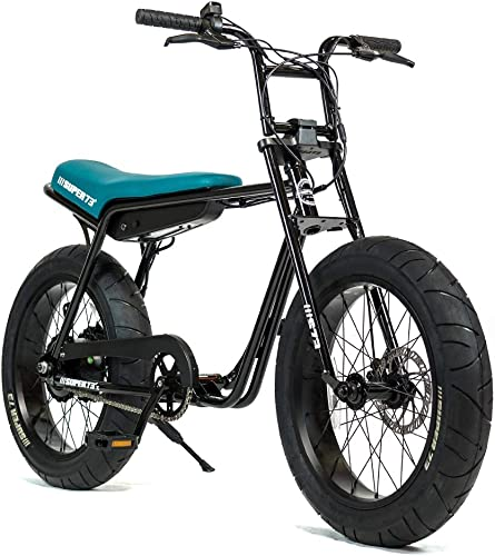 Super73-Z1 Jett Black Electric Motorbike, 36V Lithium Ion Battery 500 Watt Rear Hub Motor, Full Throttle E-Bike