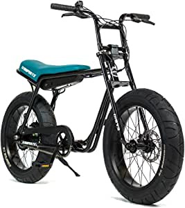 Super73-Z1 Jett Black Electric Motorbike, 36V Lithium Ion Battery 500 Watt Rear Hub Motor, Full Throttle E-Bike…
