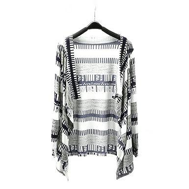 7be444b11b iShine Women Knit Cardigan Long Sleeves Loose Open Front Drape Cardigan  Sweater Coat  Amazon.co.uk  Clothing