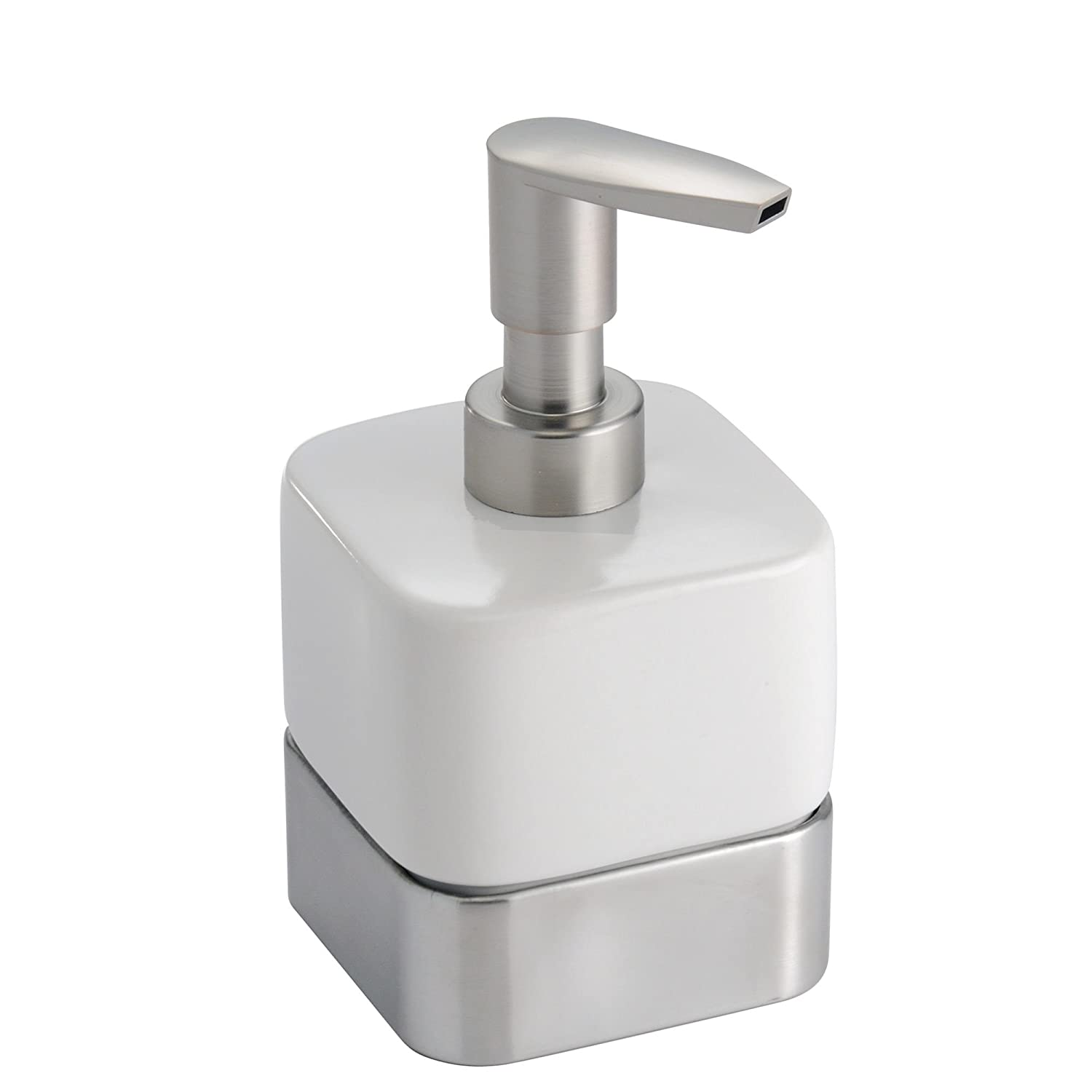 Mdesign Small Mini Compact Ceramic Liquid Hand Soap Dispenser Pump