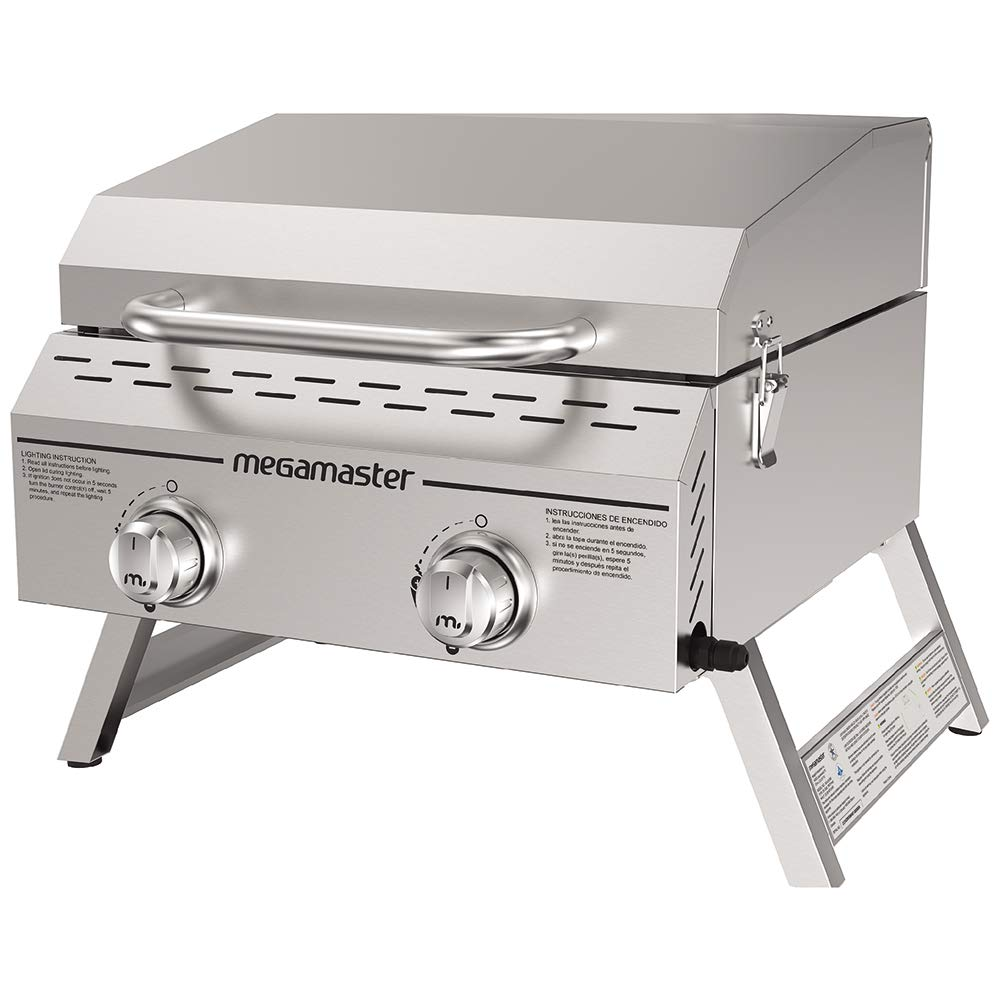 Megamaster 820-0033M Propane Gas Grill, Stainless Steel by Megamaster