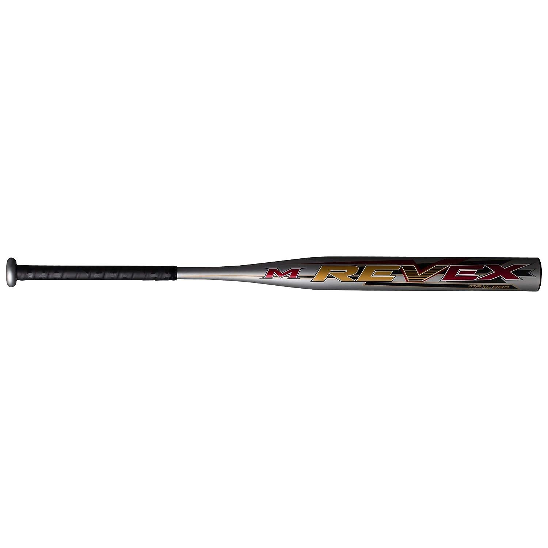 MREVEX Miken 2019 REV EX 1-Piece Maxload All Association Slowpitch Softball Bat