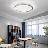 Ladiqi Crystal Round LED Flush Mount Ceiling