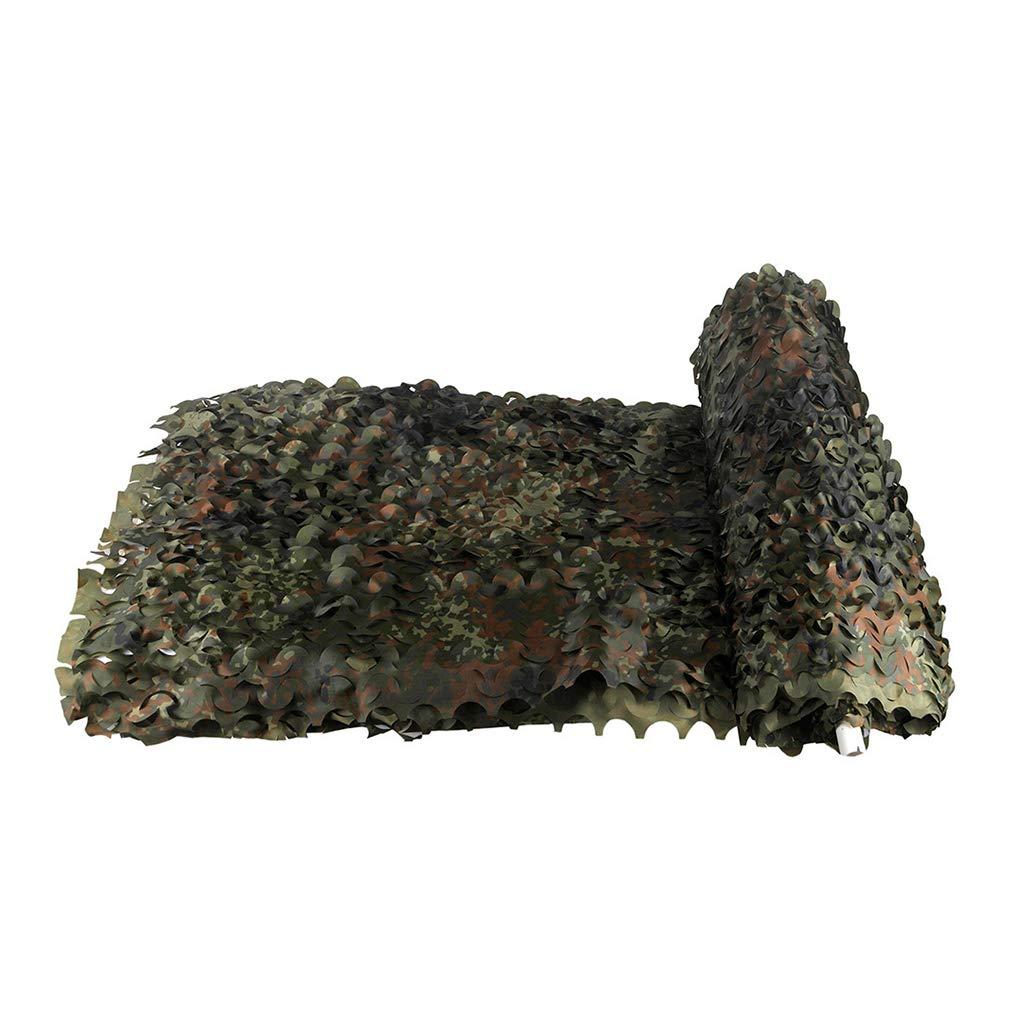 9x10m Filet de camouflage, filet d'ombrage boisland Filet Armée militaire Store, Filets de prougeection solaire, Stores de filet de camouflage de désert de 150D Oxford pour Regarder Cacher