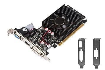 GT 610, PCI-E x16 de perfil bajo media altura tarjeta ...