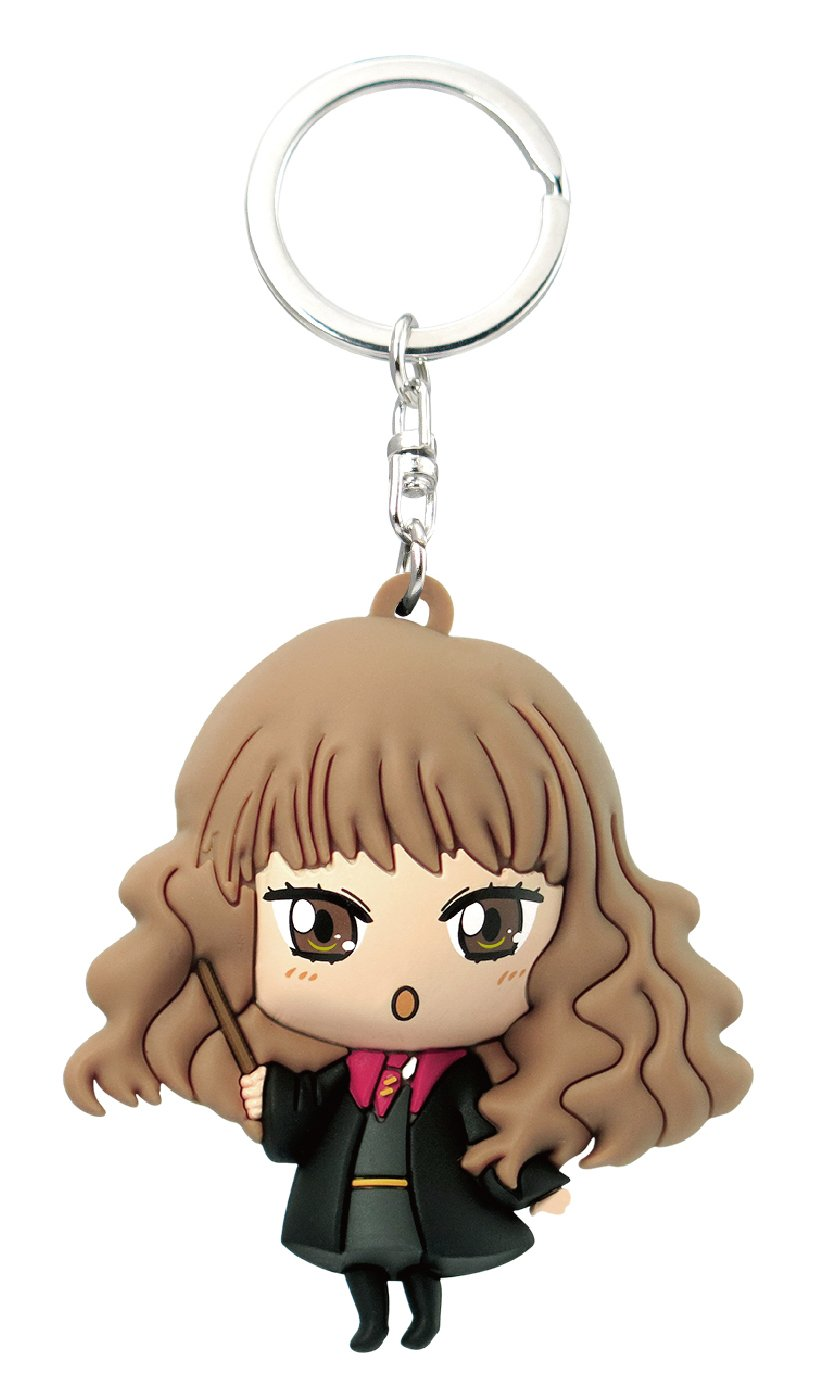 Amazon.com: HARRY POTTER Kawaii Hermione 3D Foam Key Ring ...