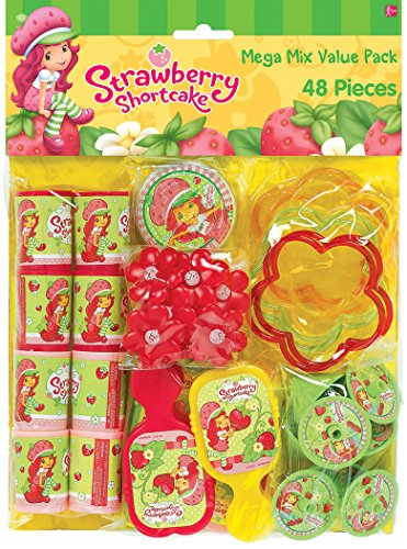 Strawberry Shortcake Birthday (Strawberry Shortcake 48 Piece Favor)