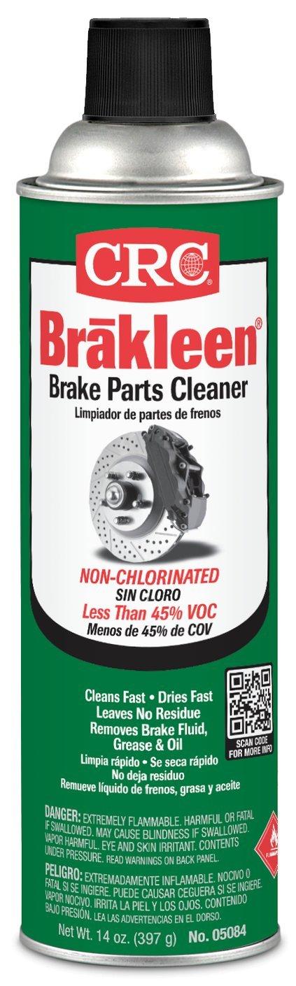 CRC 05084 BRAKLEEN Brake Parts Cleaner - Non-Chlorinated - 14 Wt Oz