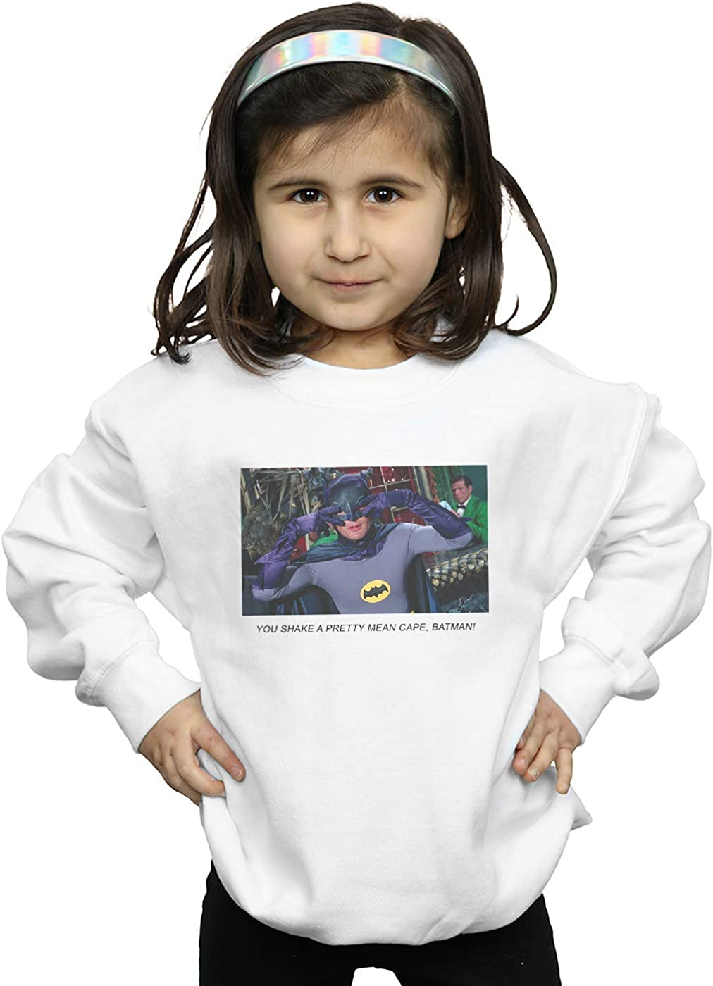DC Comics Girls Batman TV Series Mean Cape Sweatshirt
