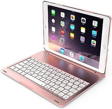 Cly Teclado Teclados F102S for el iPad de 10,2 Pulgadas de ...