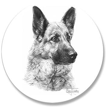 Amazon.de: bedruckt Schneidern Schnittmuster Gewicht. Hunde Bild von ...