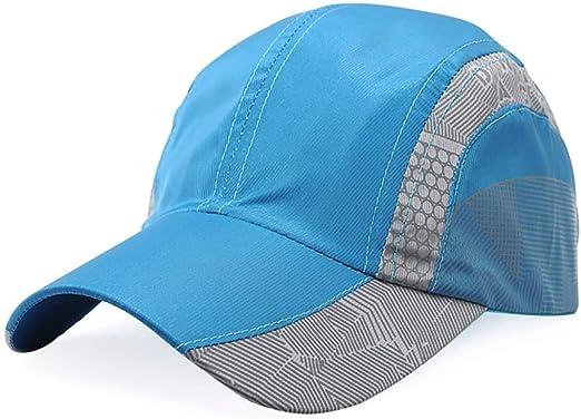 Yuany Sombrero de Sol para Hombre Gorra Deportiva de Escalada al ...