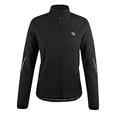 .com : BALEAF Women's Windproof Thermal Softshell Cycling Running Winter Jacket : Clothing