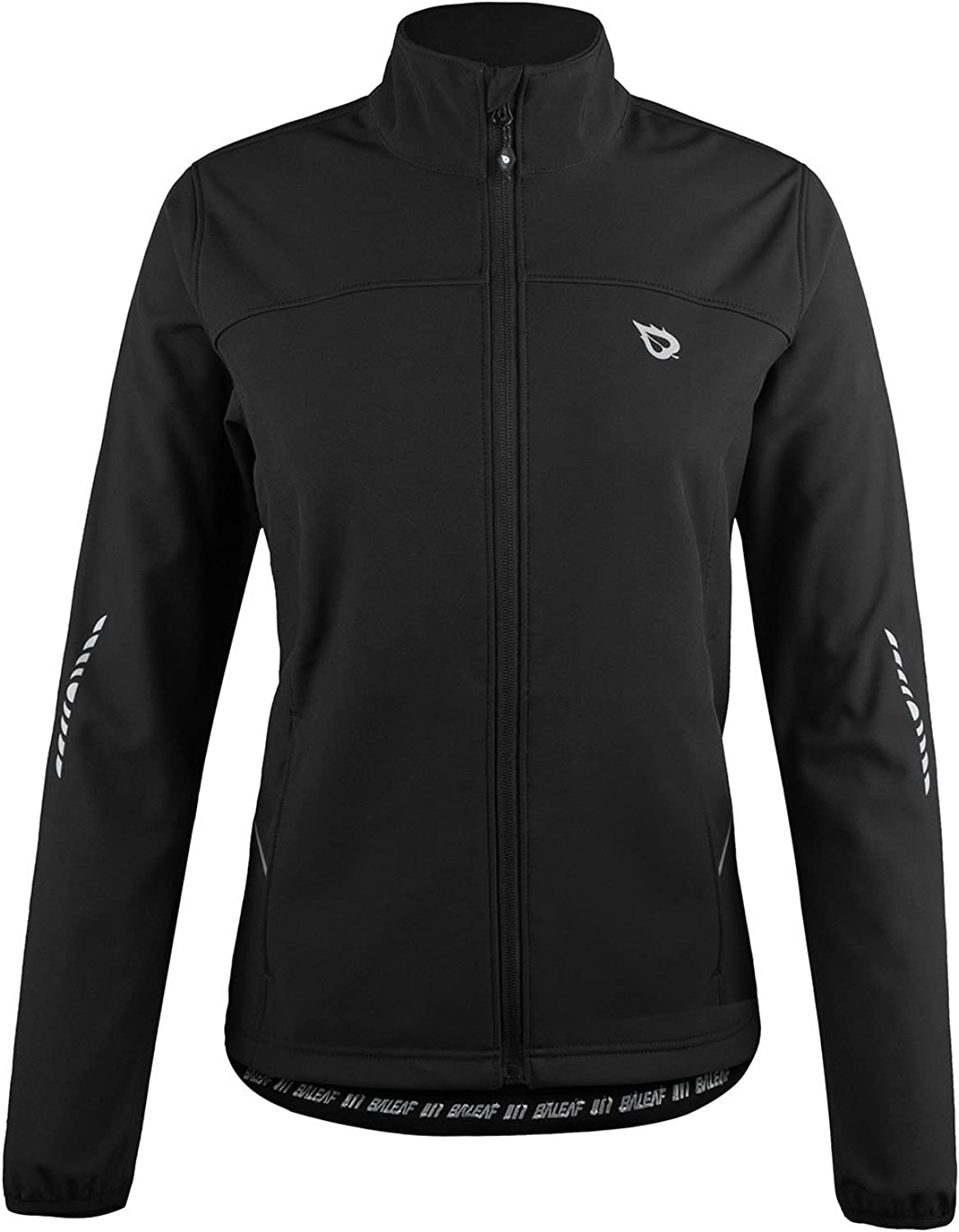 BALEAF Women's Windproof Thermal Softshell Cycling Running Winter Jacket