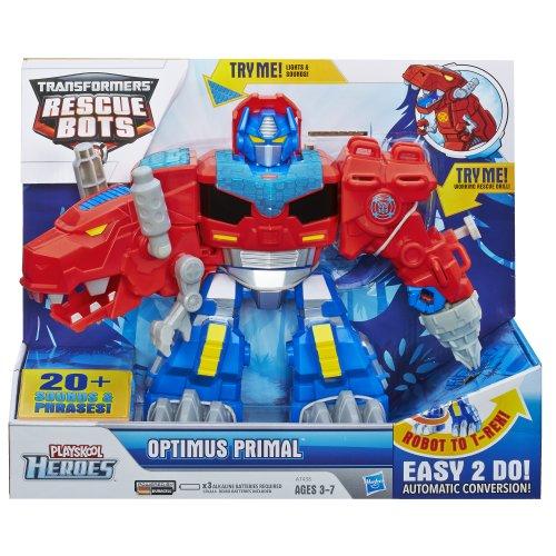 Playskool Heroes Transformers Rescue Bots Optimus Primal