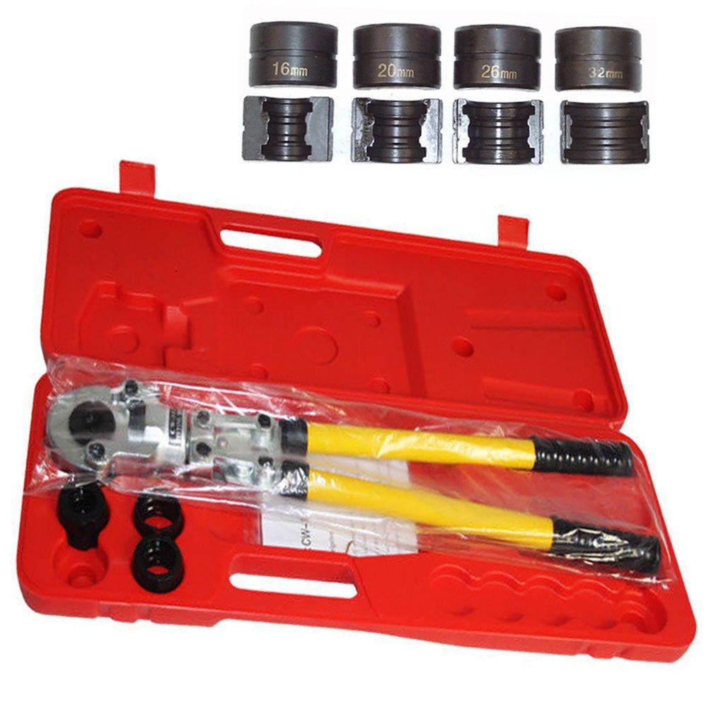 OBLLER Presszange TH-Kontur Rohrpresszange mit 16-32mm Pressbacken f. Kupferrohr