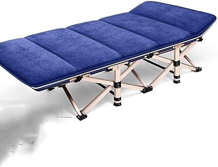 Sillas plegables Camping Bed Cama Plegable Oficina De Ocio ...