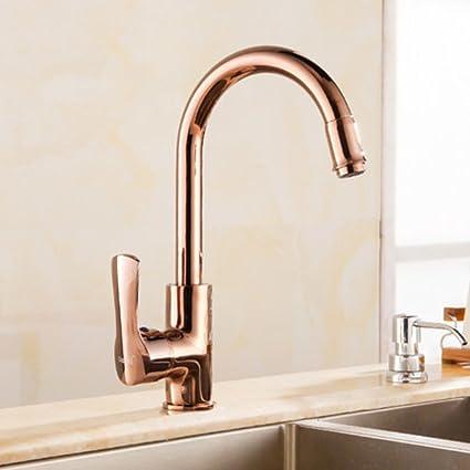 Foxi Antique Faucet Kitchen Faucet Swivel Faucet European Copper