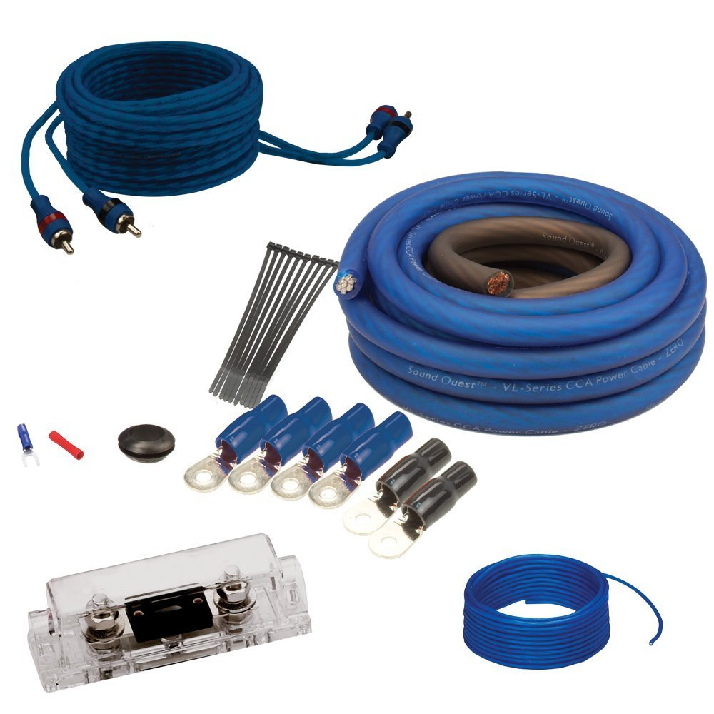 Soundquest SQK8 CCA 8 Gauge Wiring Kit