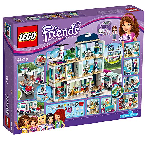 LEGO Friends Heartlake Hospital 41318 Building Kit (871 Piece) by LEGO (Image #5)