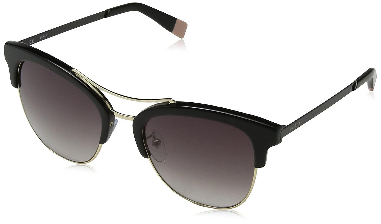 Furla Eyewear Mujer N/A Gafas de sol, Negro (Shiny Black ...