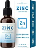 Organic Zinc Sulfate Liquid Supplement - Immune Support System Boost - Pure Ionic Concentrated Mineral Drops for Men…
