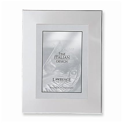 Amazon.com - Goldia Silver-Plated Photo Frame - Engravable ...