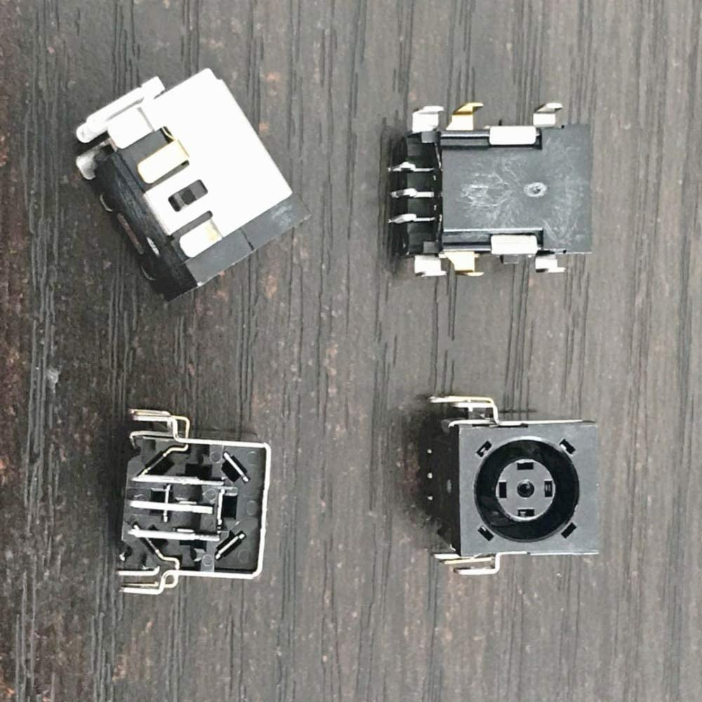Cable Length: Buy 2 Piece Connectors New Laptop DC Jack Power Socket Charging Connector Port for HP 6445B 6545B 6455B 6550B 6555B